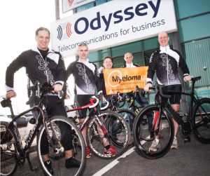 Mike Odysseas and team gearing up for Myeloma uk
