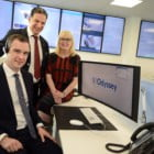 STOCKTON SOUTH MP OFFICIALLY OPENS ODYSSEY SYSTEMS' NEW HQ